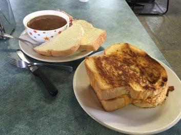 Toast at Braeburn lodge