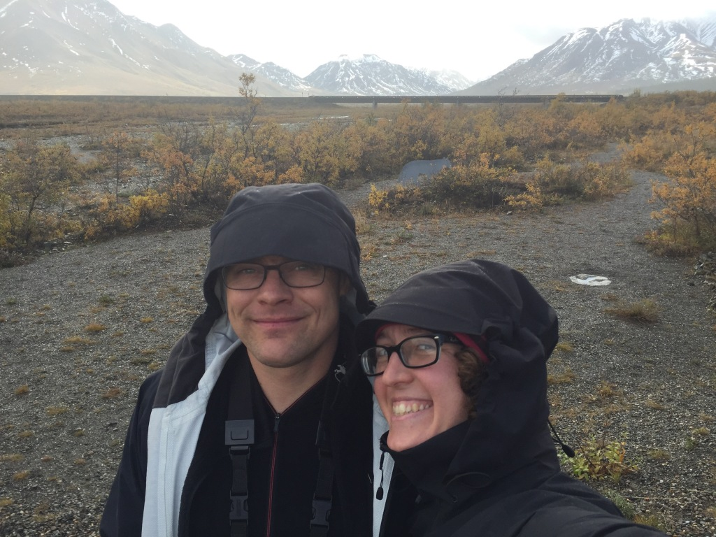 denali saturday fog selfie